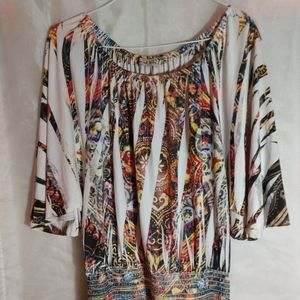 XL Live and Let Live Shirt Dress